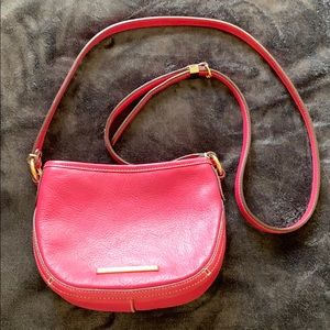 Hot pink Lauren Ralph Lauren crossbody bag